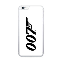 007 White iPhone Case