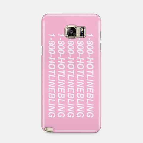 1-800 Hotline Bling Drake Samsung Galaxy S5 S6 S7 Edge Case