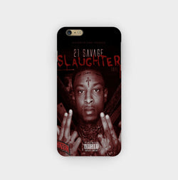 21 Savage the Slaughter Tape iPhone Case - Casesity Phone Cases Shop