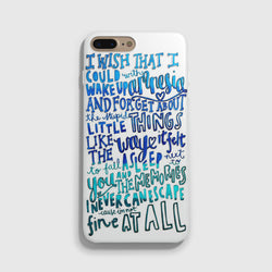 5SOS Amnesia Lyrics iPhone 7 / 7 Plus Case - Casesity Phone Cases Shop
