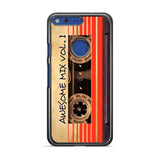 Awesome Mix Vol 1 google pixel case