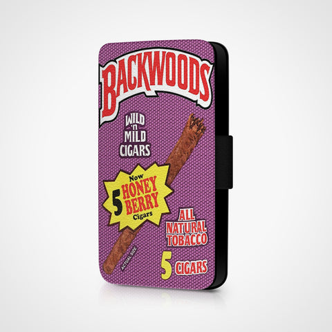 Backwoods Honey Berry Cigars iPhone 6S Wallet Case - Casesity Phone Cases Shop