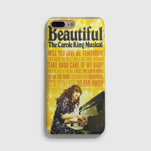 Beautiful The Carole King Musical Lyrics iPhone 7 Case - Casesity Phone Cases Shop