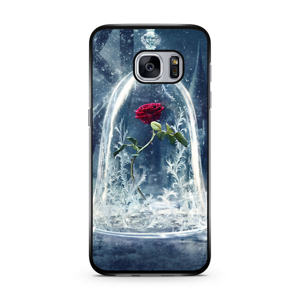 Beauty and the Beast Enchanted Rose samsung s6 s7 edge case