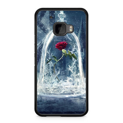 Beauty and the Beast Enchanted Rose htc 10 case
