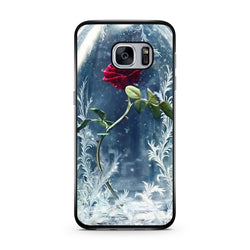 Beauty and the Beast Rose Flower samsung s7 edge case