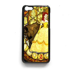 Beauty and the Beast Stained Glass ipod case