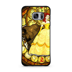 Beauty and the Beast Stained Glass samsung galaxy s6 s7 edge case