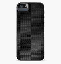 Black Carbon Fiber iPhone Case