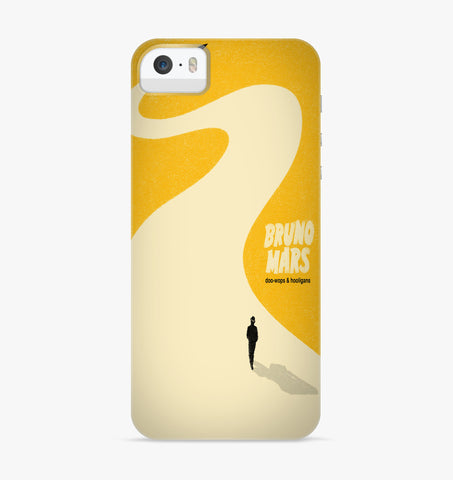 Bruno Mars Doo Wops & Hooligans iPhone Case