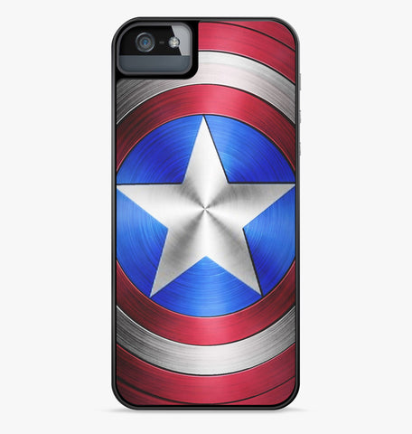 Captain America Shield iPhone Case