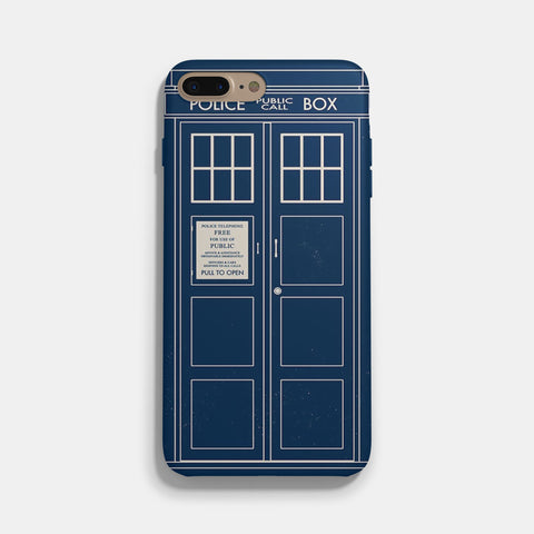 Doctor Who Tardis 2 iPhone 7 Case