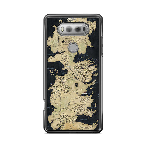 Game of Thrones Westeros Map lg case