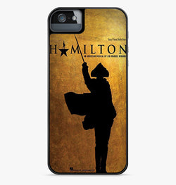Hamilton Musical Vocal Selection iPhone Case