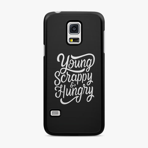 Hamilton Young Scrappy and Hungry Samsung Galaxy Case