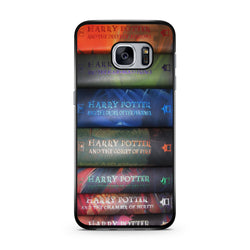 Harry Potter Books Library samsung s6 s7 edge case