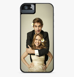 Jim and Pam iPhone Case