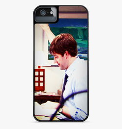 Jim and Pam Matching iPhone Case