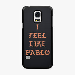 Kanye West I Feel Like Pablo Black Samsung Galaxy Case