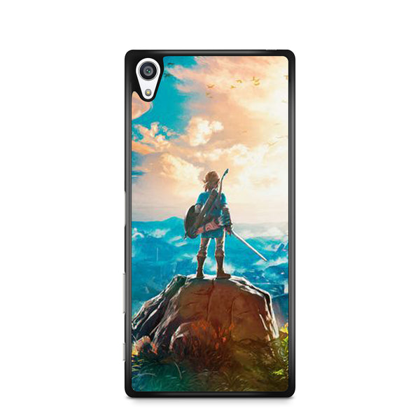 Legend of Zelda Breath of the Wild Link xperia case