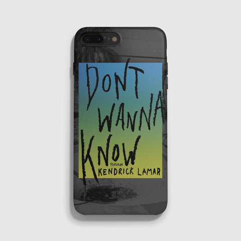 Maroon 5 Don't Wanna Know iPhone 7 Case - Casesity Phone Cases Shop