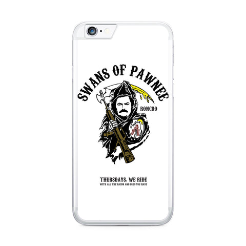 Parks and Recreation Swans of Pawnee iphone case