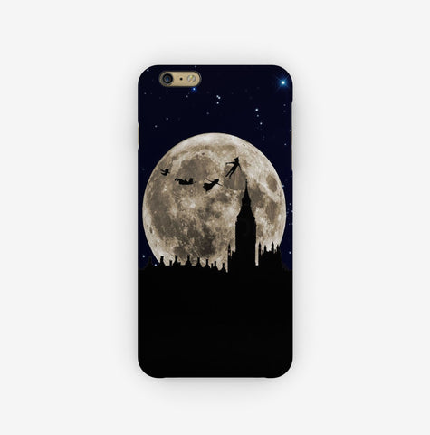 Peter Pan Flying to the Moon iPhone 6S Case