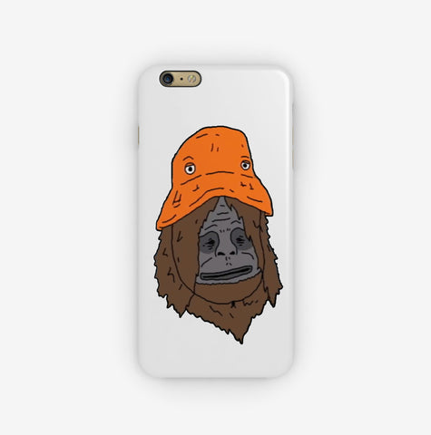 Sassy and the Orange Hat iPhone Case
