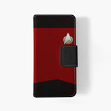 Star Trek TNG Uniform iphone wallet