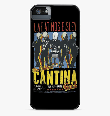 Star Wars Cantina Band On Tour iPhone Case