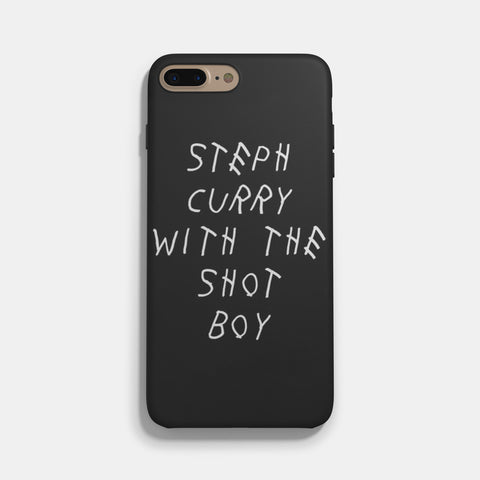 Steph Curry Drake Shot iPhone 7 / 7 Plus Case