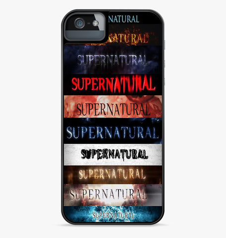 Supernatural All Seasons iPhone Case