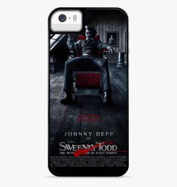 Sweeney Todd the Demon Barber iPhone 6S Case - Casesity Phone Cases Shop