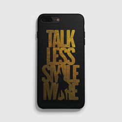 Talk Less Smile More Hamilton iPhone 7 Case - Casesity Phone Cases Shop