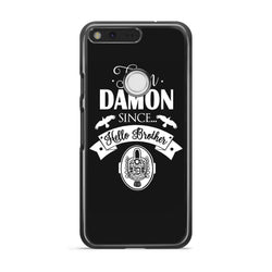 Team Damon Since Hello Brother The Vampire Diaries Google Pixel Case