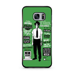 The IT Crowd Quotes samsung case