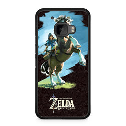 The Legend of Zelda Breath of the Wild htc 10 case