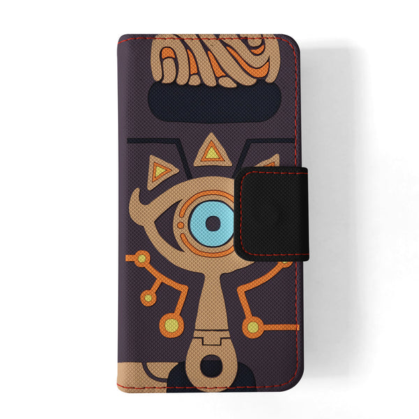 The Legend of Zelda Sheikah Slate samsung s7 edge wallet