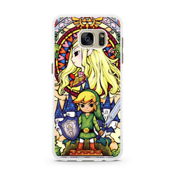The Legend of Zelda Stained Glass samsung s6 s7 edge case