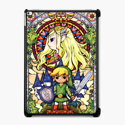 The Legend of Zelda Stained Glass iPad Case