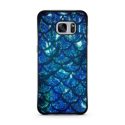 Turquoise Blue Mermaid Scale samsung case