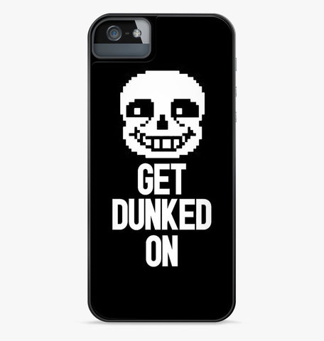 Undertale Sans Get Dunked On iPhone Case