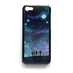 Voltron in Space Nebula ipod case