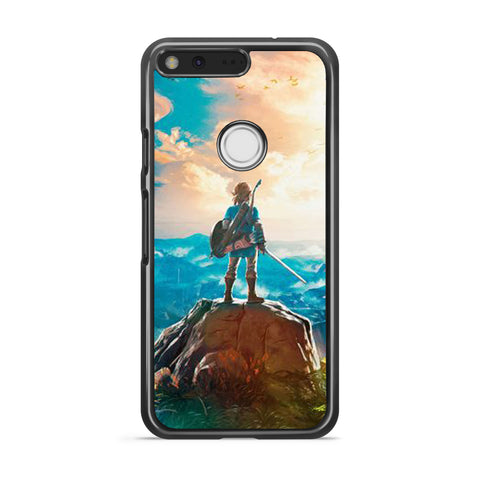 Zelda Breath of the Wild Link google pixel case