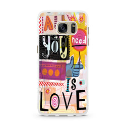The Beatles All You Need is Love Samsung Galaxy Case