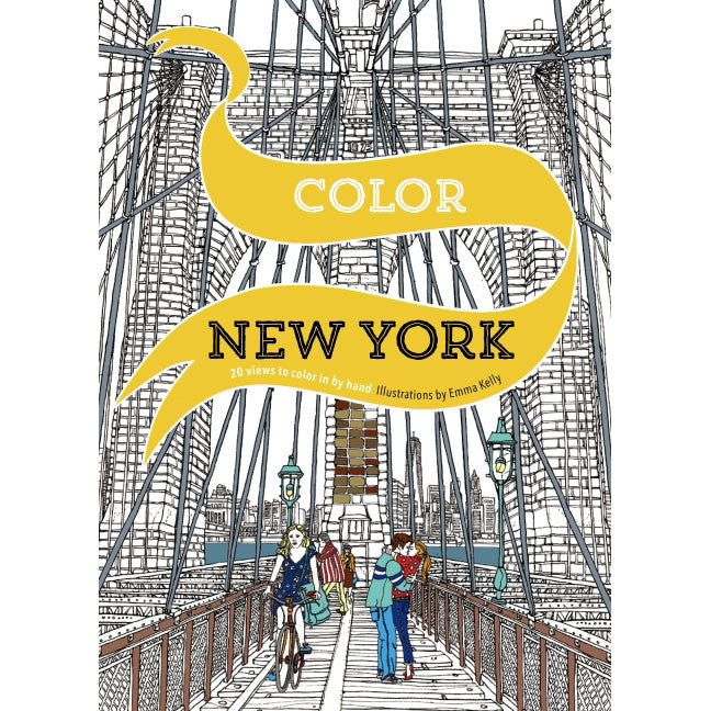 Color New York Coloring Book