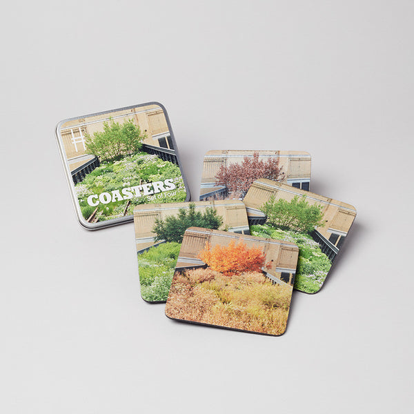 Seasons of the High Line Coaster Set