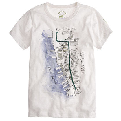 J. Crew Kids Watercolor Tee