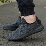 HAOLIDA Men Mesh Lightweight Shoes Laced-Up - imenapparel.com