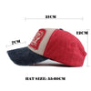 Summer Cotton Baseball Snapback Hat Multicolor